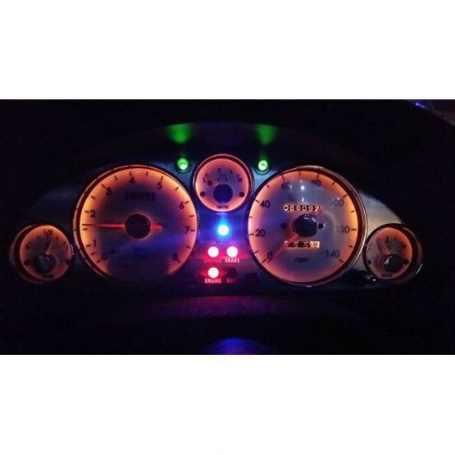 Instrument panel cluster, vintage style s/s, Mazda MX-5 mk1 1.6 no HRW, JASS Performance
